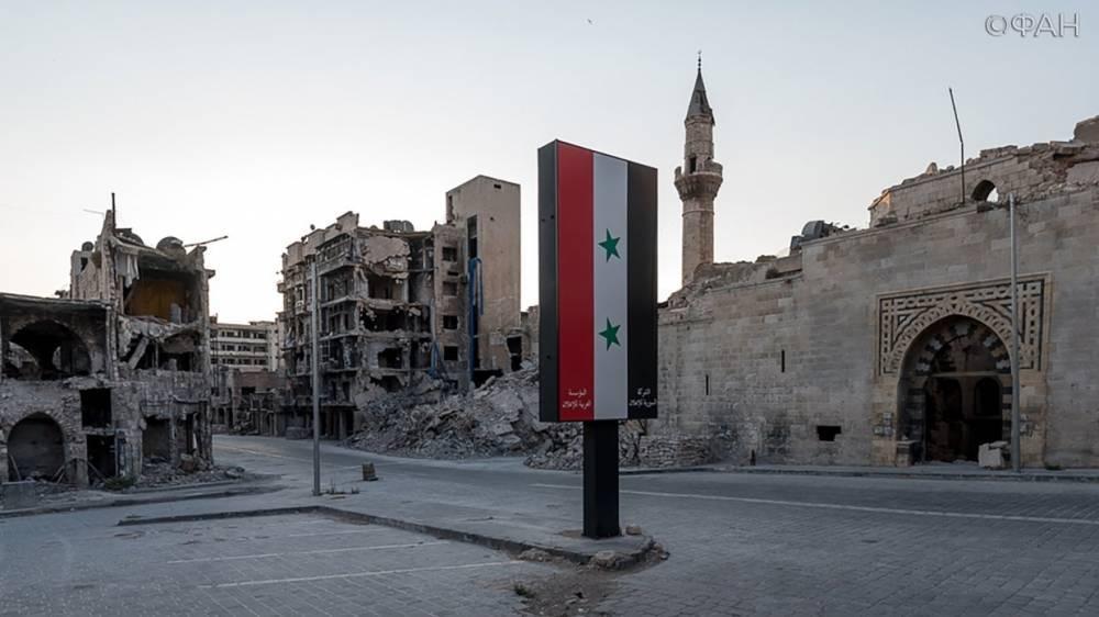 Сирия: в Алеппо правительственные войска продолжают разминирование