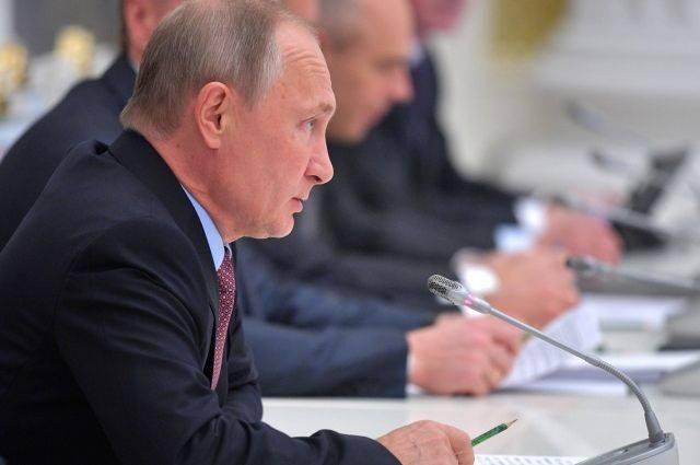 Путин поручил правительству пересмотреть долги российских регионов