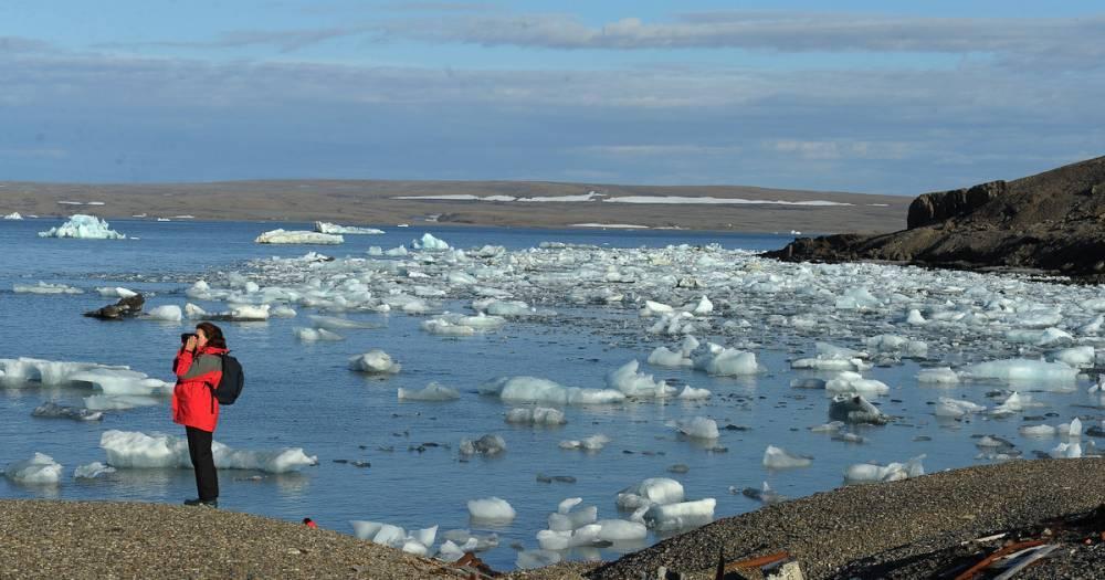 Российские гидрографы открыли остров в районе Новой Земли