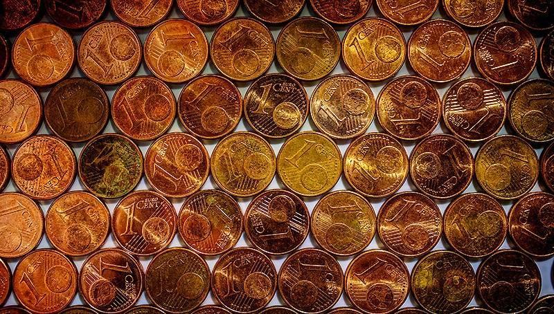 Немцы собирают мелочь – 15 млрд. монет на руках