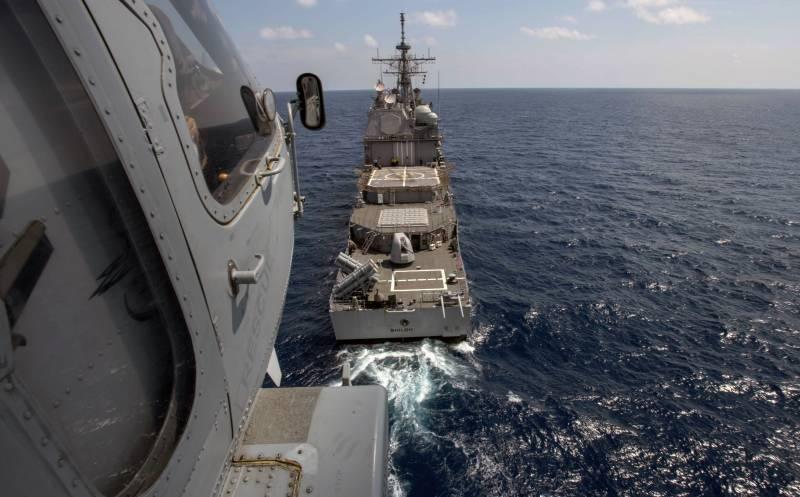 Американские моряки о своем крейсере: тюрьма, бесполезная против КНДР