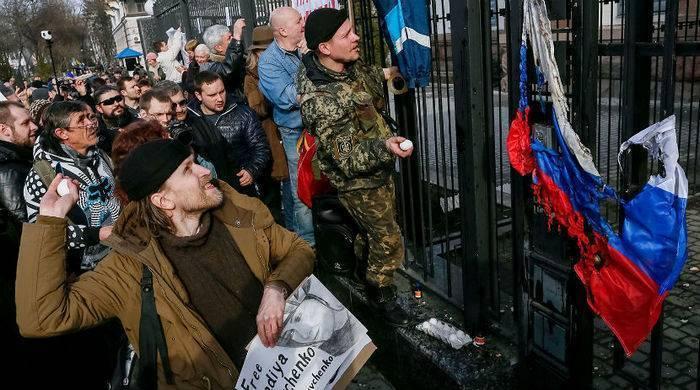 Суд заочно арестовал четырех украинцев за нападения на дипмиссии