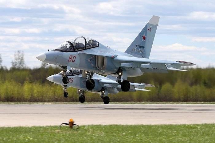 Краснодарское летное училище получит четыре новых Як-130