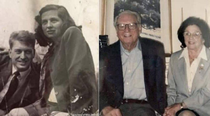 Они жили счастливо 75 лет и умерли в один день