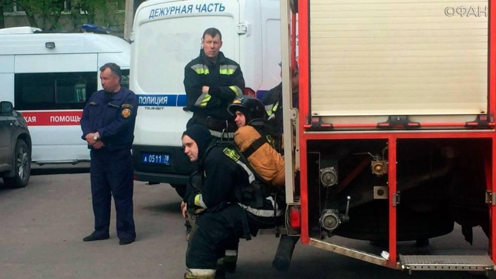 Пожарные тушат возгорание в заброшенном телецентре в Петропавловске-Камчатском