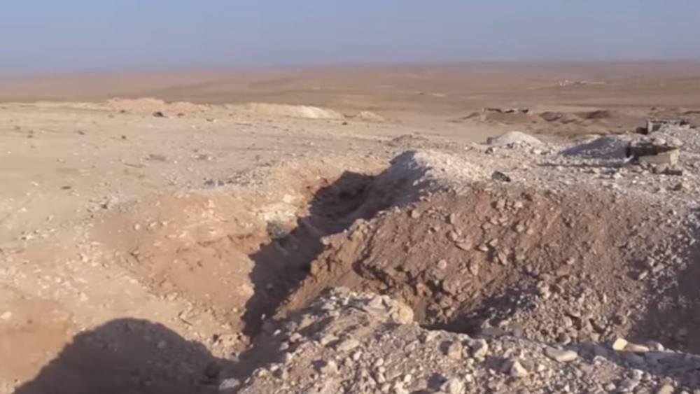 Сирия: обнаружена целая сеть подземных туннелей ИГ