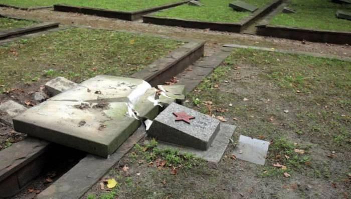 В Польше за четыре года осквернили более 70 памятников советским солдатам