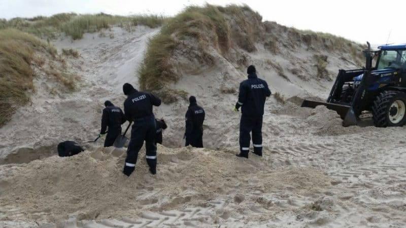 Полиция нашла тело пропавшего беженца