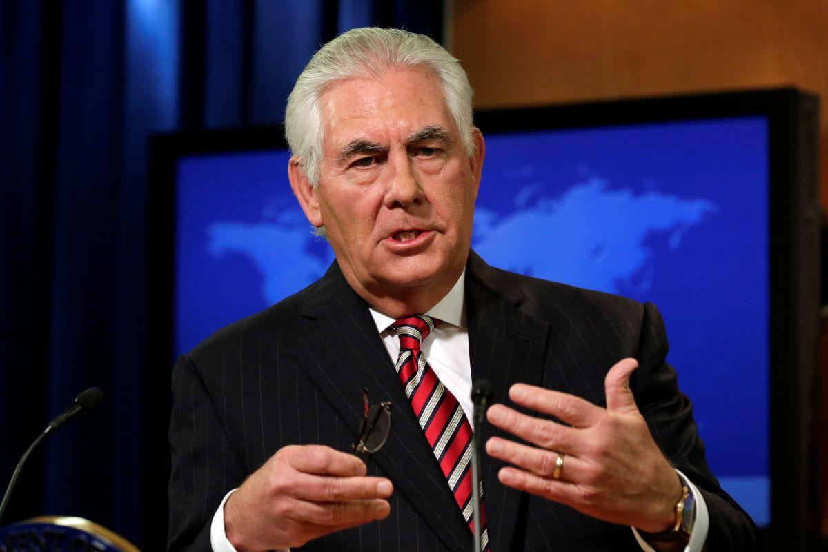 Тиллерсон анонсировал новый план Трампа по отношениям с Ираном