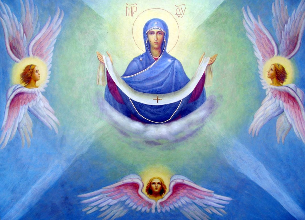 14 октября – Покров Пресвятой Владычицы нашей Богородицы