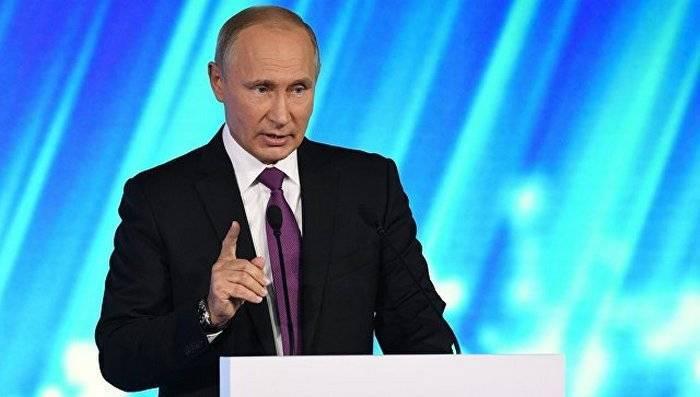 Путин пообещал мгновенный и зеркальный ответ на выход США из договора РСМД