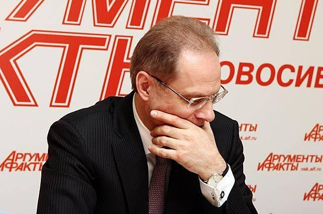 Бывшему губернатору Новосибирской области Юрченко дали условный срок