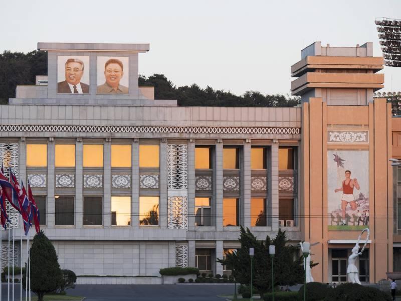 В КНДР провели учения с отключением света