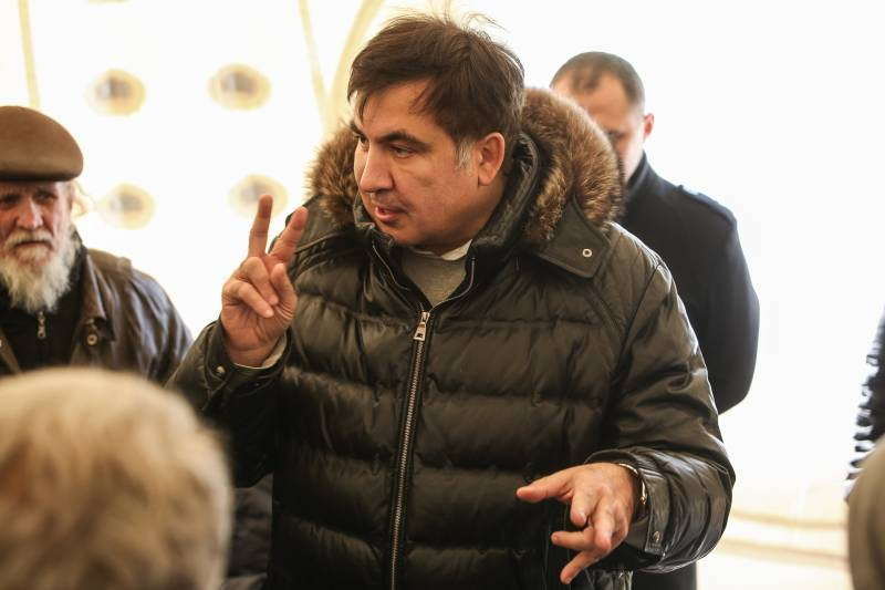 Саакашвили обжаловал в суде указ президента Украины о лишении его гражданства