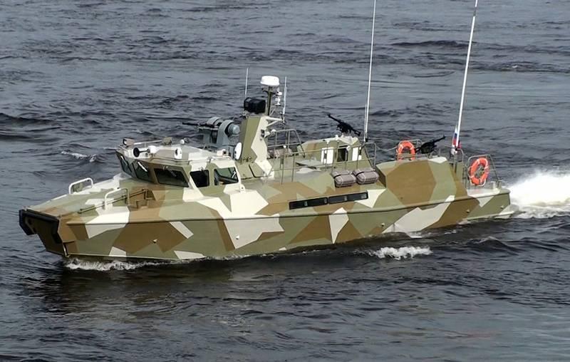 ВМФ РФ получит ударную версию катеров «Раптор»