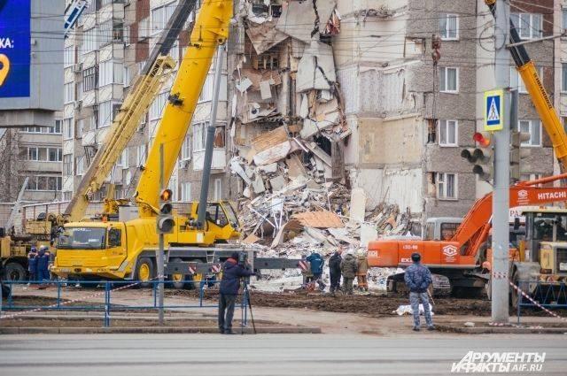 Обвиняемый в обрушении дома в Ижевске заключен под стражу