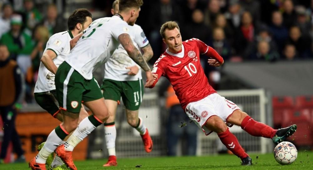 Сборные Дании и Ирландии не забили друг другу голов в матче плей-офф отбора ЧМ-2018