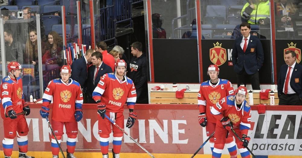 Российские хоккеисты одержали крупную победу над Швейцарией