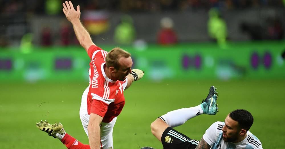 Игрок сборной Аргентины по футболу попал в больницу после матча с россиянами