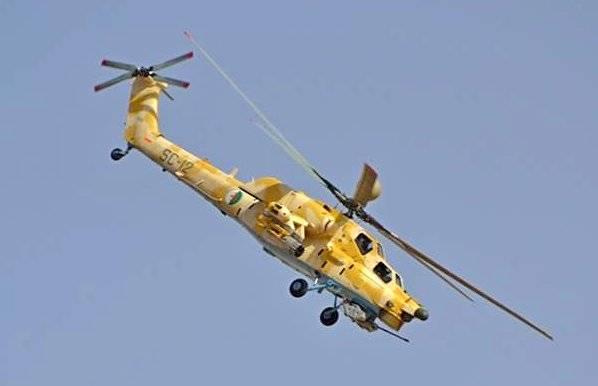 Боевики засняли, как Ми-28Н своей 30-мм пушкой вбивает их «коллег» в землю