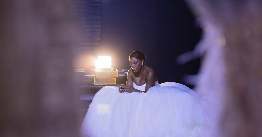 Серена Уильямс выложила в Instagram первую фотографию со свадьбы