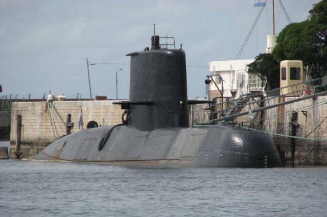 ВМС Аргентины пока не могут определить местоположение пропавшей подлодки
