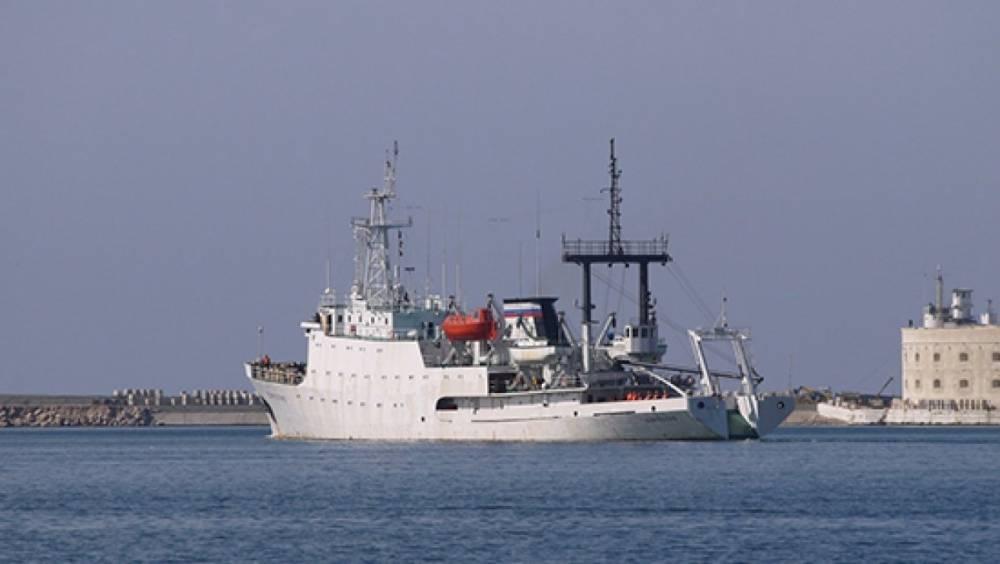 Сирия: гидрографическое судно «Донузлав» вошло в состав отряда ВМФ РФ в Средиземноморье