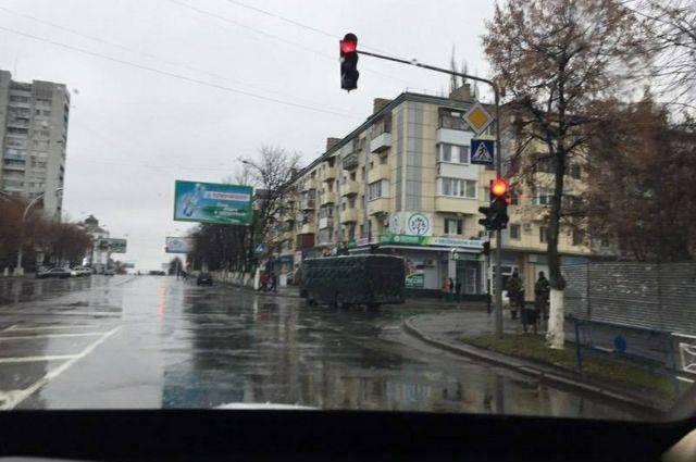 При взрыве в Луганске пострадали три женщины