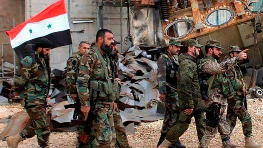 Сирия: сирийская армия продолжает вытеснять боевиков «Джебхат ан-Нусра» в окрестностях Хамы