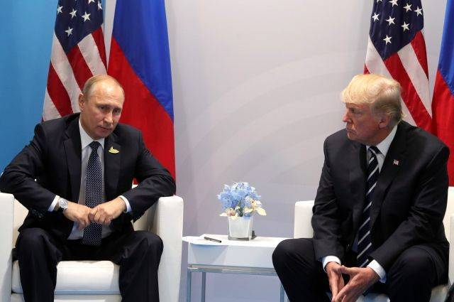 Путин и Трамп обсудили актуальные вопросы двусторонних отношений