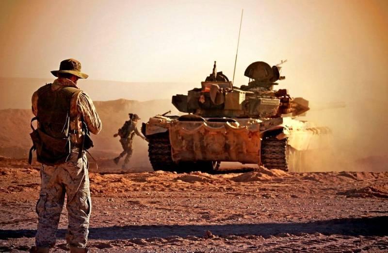 Сирийская армия оголила фронт у Евфрата и понесла потери в бронетехнике