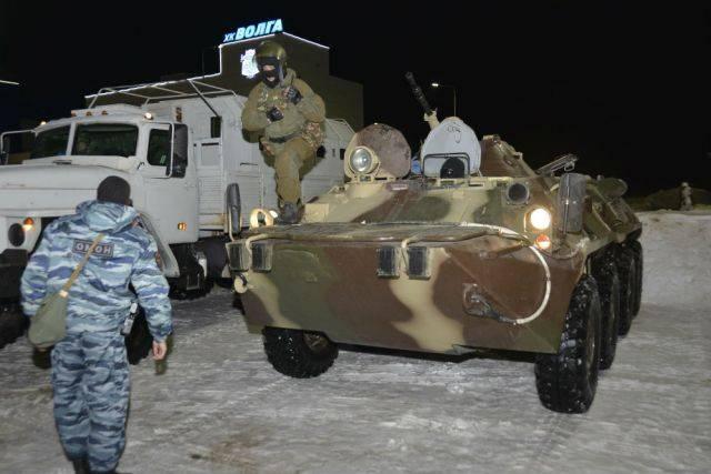 НАК опубликовал видео боя силовиков с бандитами в Дагестане