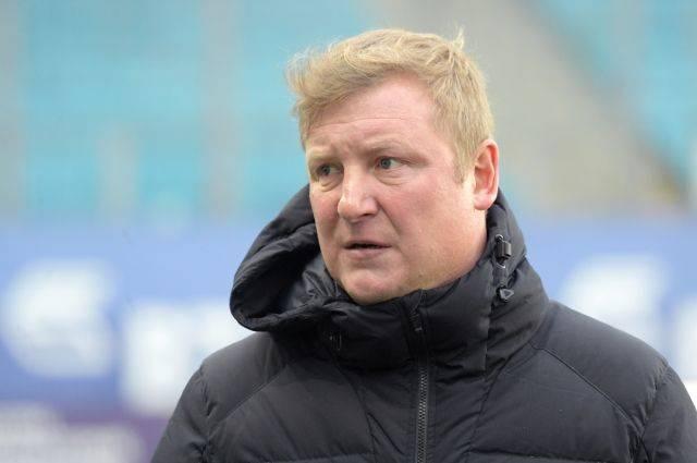 Футбольный клуб «Тосно» уволил тренера Бесчастных