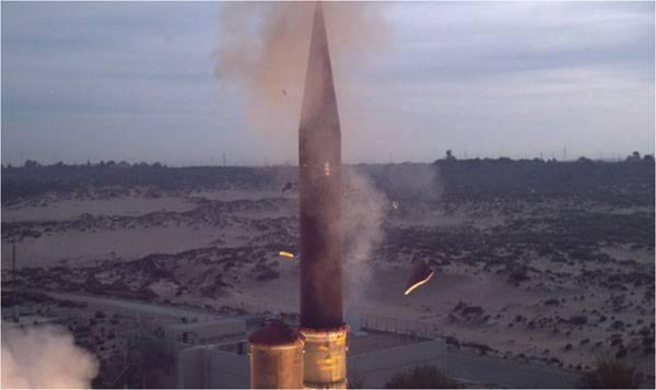 Что послужило причиной срыва сегодняшних испытаний израильской системы ПРО Arrow-3?