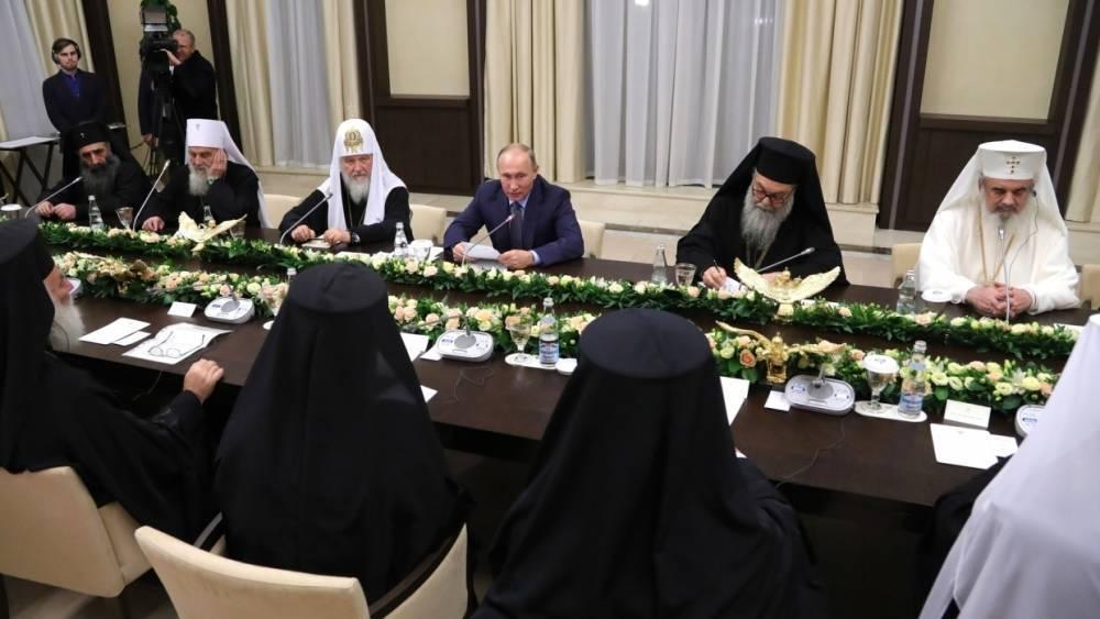 Путин: В XXI веке мы вновь сталкиваемся с гонениями по религиозному признаку