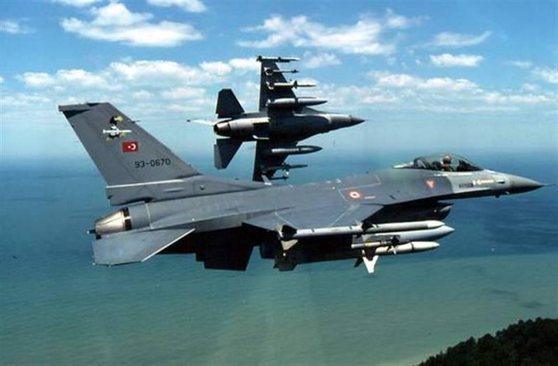 Турецкая авиация уничтожила более 30-ти объектов РПК в Ираке