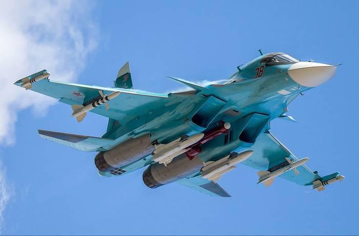 Бомбардировщику Су-34 повышают боевую эффективность