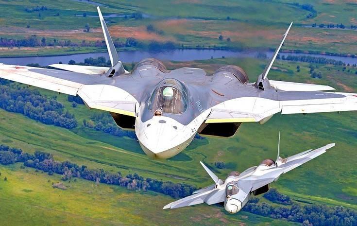 Эксклюзивные кадры первого полета Су-57 с новыми двигателями