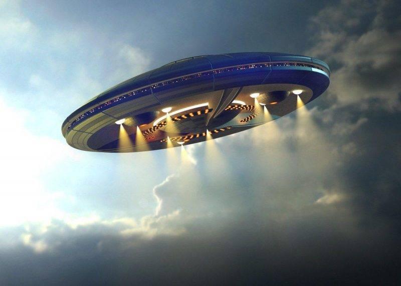 В небе над Россией замечен НЛО