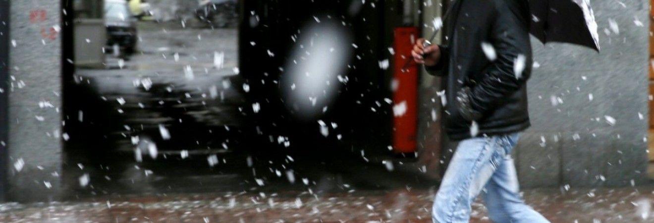 Сегодня в Киеве пройдет снег, днем температура до +4°