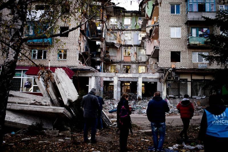 ООН прекратит поставки продовольственной помощи на Донбасс