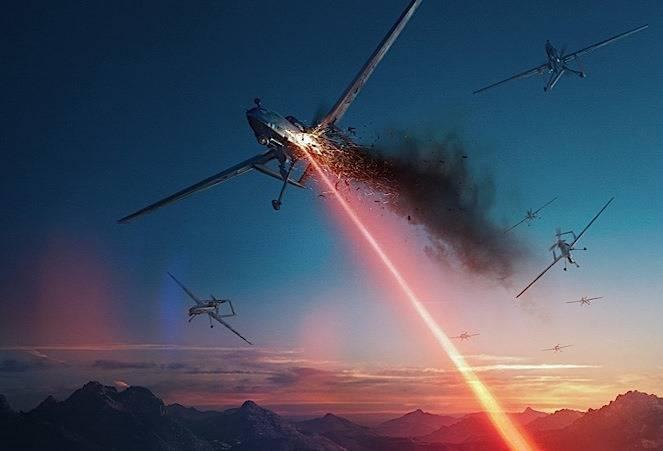 В РФ планируют создать мобильный лазер для борьбы с беспилотниками