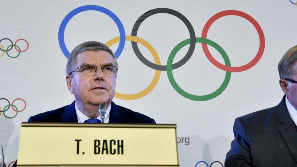 Глава МОК принял к сведению заявление Путина о выступлении атлетов РФ на Играх-2018