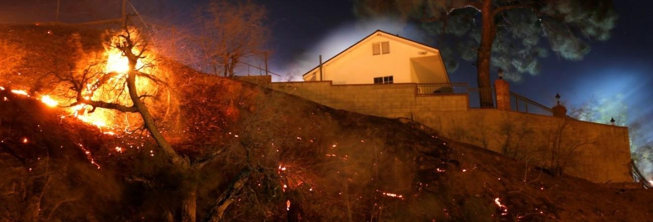 Лесной пожар в Калифорнии может стать самым страшным в истории штата