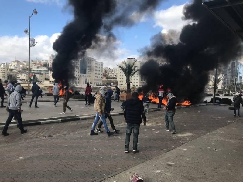 Начались столкновения на Западном берегу реки Иордан