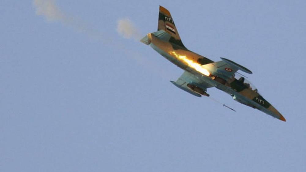 Боевики ИГИЛ снова «сбили» сирийский самолет