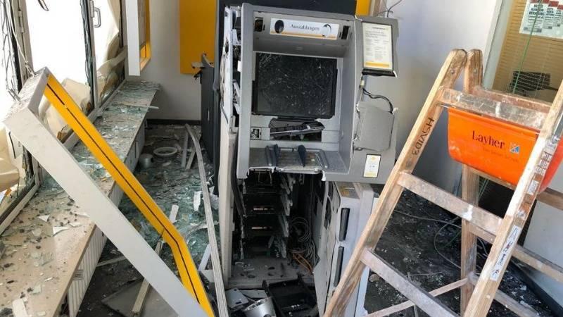 Неизвестные взорвали и ограбили банкоматы в Мюнхене