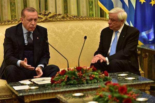 Что Эрдоган наговорил в Афинах?