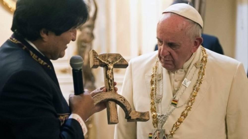 Папа Римский Франциск призвал поменять текст молитвы «Отче наш»