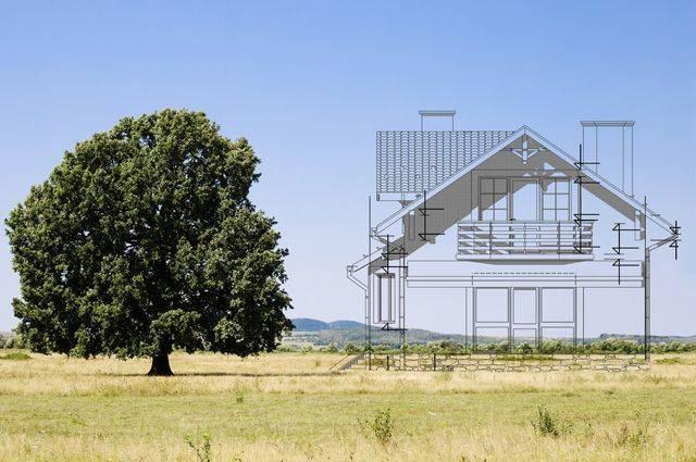 Сколько может занимать дом на дачном участке в6соток?